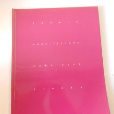 Libros de segunda mano: 4 PREMIS D'ARQUITECTURA DE LES COMARQUES DE GIRONA 2000 COAC CATÀLEG CATÁLOGO. Lote 295984283