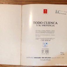 Libros de segunda mano: TODO CUENCA Y SU PROVINCIA(38€). Lote 117236827