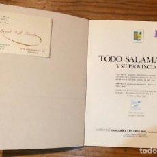Libros de segunda mano: TODO SALAMANCA Y SU PROVINCIA(38€). Lote 117237619