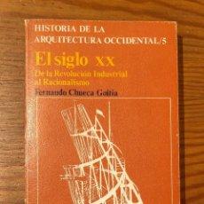 Libros de segunda mano: HISTORIA DE LA ARQUITECTURA OCCIDENTAL /5. EL SIGLO XX DE LA REVOLUCION INDUSTRIAL AL RACIONALISMO(2. Lote 118656263