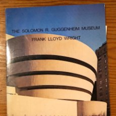 Libros de segunda mano: FRANK LLOYD WRIGHT-THE SOLOMON R.GUGGENHEIM MUSEUM(42€). Lote 118658211