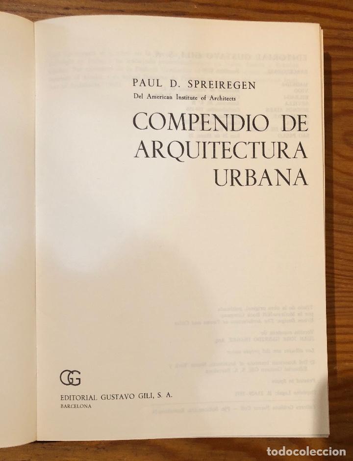 Libros de segunda mano: Compendio de arquitectura urbana(23€) - Foto 2 - 118661419