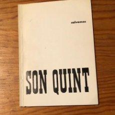 Libros de segunda mano: SON QUINT(11€). Lote 118720211