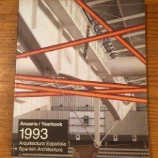 Libros de segunda mano: ARQUITECTURA VIVA-1993. Lote 118751431