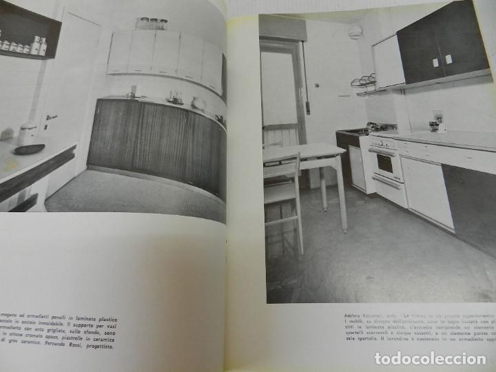 CUCINE MODERNE AMBIENTI E MOBILI. GIULIO PELUZZI GÖRLICH EDITORE MILANO  1963 arquitectura diseño