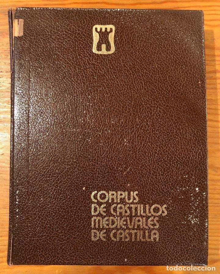 CORPUS DE CASTILLOS MEDIEVALES DE CASTILLA(39€) (Libros de Segunda Mano - Bellas artes, ocio y coleccionismo - Arquitectura)