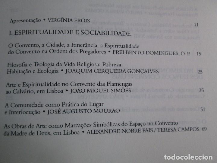 Libros de segunda mano: CONVERSAS A VOLTA DOS CONVENTOS. VIRGINIA FROIS. CASA DO SUL EDITORA. 2002. VER FOTOGRAFIAS - Foto 8 - 119498783