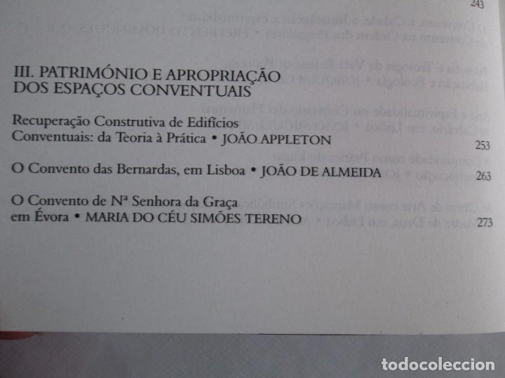 Libros de segunda mano: CONVERSAS A VOLTA DOS CONVENTOS. VIRGINIA FROIS. CASA DO SUL EDITORA. 2002. VER FOTOGRAFIAS - Foto 10 - 119498783