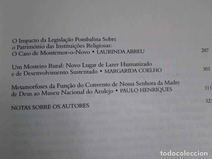 Libros de segunda mano: CONVERSAS A VOLTA DOS CONVENTOS. VIRGINIA FROIS. CASA DO SUL EDITORA. 2002. VER FOTOGRAFIAS - Foto 11 - 119498783