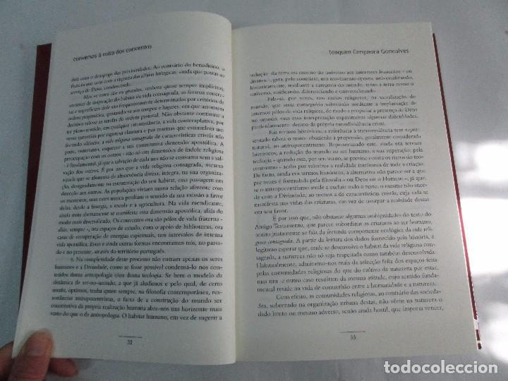 Libros de segunda mano: CONVERSAS A VOLTA DOS CONVENTOS. VIRGINIA FROIS. CASA DO SUL EDITORA. 2002. VER FOTOGRAFIAS - Foto 12 - 119498783
