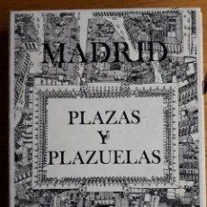 Libros de segunda mano: MADRID PLAZAS Y PLAZUELAS / CARLOS DE MIGUEL / CON SU CAJA / IMPRESO EN GRAFICAS LORCA / 1ª EDICIÓN . Lote 119606495
