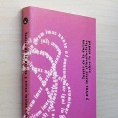 Libros de segunda mano: TEORIA DE LA DERIVA Y OTROS TEXTOS SITUACIONISTAS SOBRE LA CIUDAD. (NUEVO) - ANDREOTTI, LIBERO Y CO. Lote 120181592