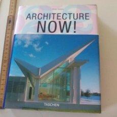 Libros de segunda mano: ARCHITECTURE NOW ! PHILIP JODIDIO. TASCHEN. 2005. Lote 120259711