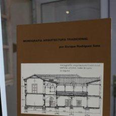 Libros de segunda mano: ARQUITECTURA DE TENERIFE.MONOGRAFIA ARQUITECTURA TRADICIONAL,ENRIQUE RODRIGUEZ SANZ.CANARIAS 1988. Lote 120415943