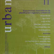 Libros de segunda mano: URBAN 11 : REVISTA DE URBANÍSTICA Y ORDENACIÓN DEL TERRITORIO, ESCUELA SUPERIOR DE ARQUITECTURA . Lote 121716659