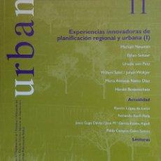 Libros de segunda mano: URBAN 11 : REVISTA DE URBANÍSTICA Y ORDENACIÓN DEL TERRITORIO, ESCUELA SUPERIOR DE ARQUITECTURA . Lote 121716851