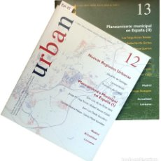 Libros de segunda mano: URBAN 12 Y 13 : REVISTA DE URBANÍSTICA Y ORDENACIÓN DEL TERRITORIO, ESCUELA SUPERIOR DE ARQUITECTURA. Lote 121717135