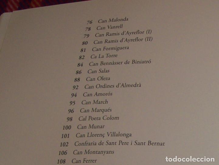 Libros de segunda mano: PATIS DE PALMA. VOLUM I . FOTOGRAFIES DE JOAN RAMON BONET.1ª EDICIÓ 2006. TOT UNA JOIA!!!!!!!! - Foto 19 - 121874683
