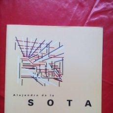 Libri di seconda mano: ALEJANDRO DE LA SOTO , ARQUITECTO. Lote 122962347