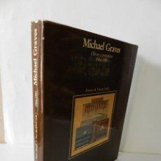 Libros de segunda mano: MICHAEL GRAVES . OBRAS Y PROYECTOS 1966 - 1985 . GUSTAVO GILI 1987. Lote 123507123