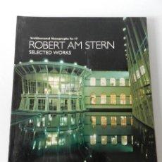 Libros de segunda mano: ROBERT AM STERN: SELECTED WORKS (ARCHITECTURAL MONOGRAPHS NO 17) 1992 - ARQUITECTURA. Lote 123565815