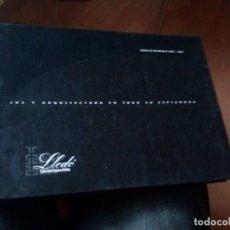 Libros de segunda mano: LUZ Y ARQUITECTURA EN TODO SU ESPLENDOR. GRUPO LLEDÓ. CATÁLOGO 2004. ILUMINACION . Lote 123998611