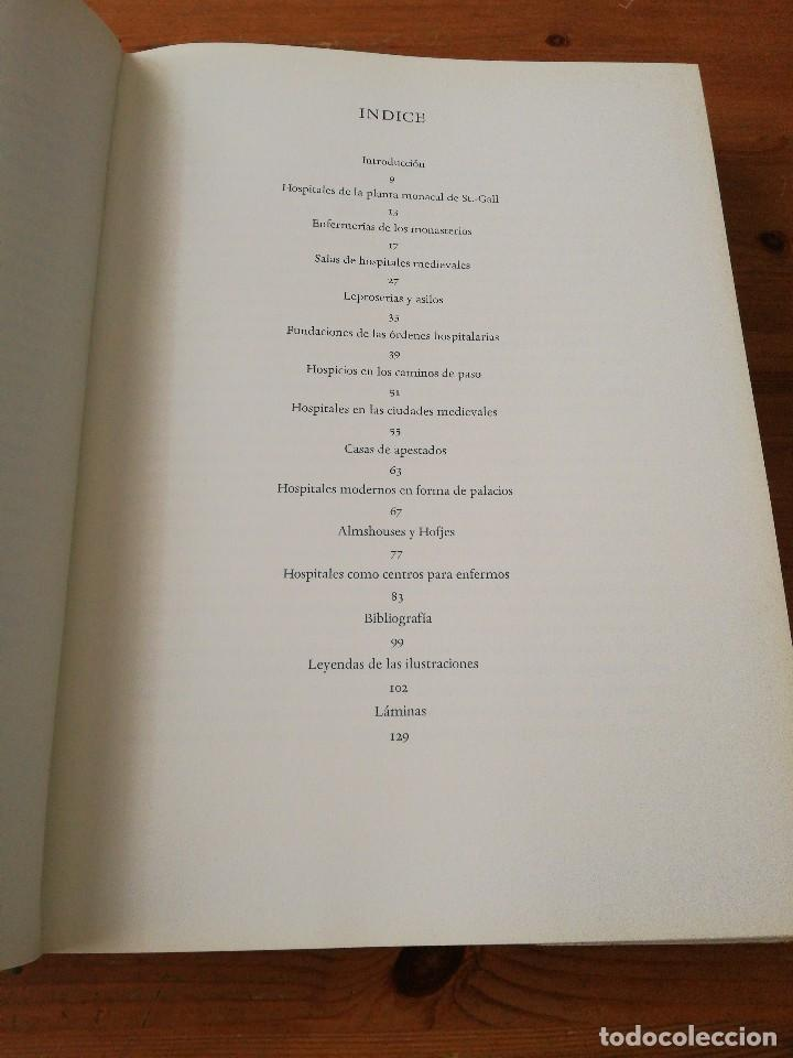 Libros de segunda mano: Edificios hospitalarios en Europa durante diez siglos. - Foto 4 - 124758447