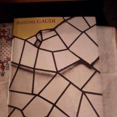 Libros de segunda mano: ANTONIO GAUDI (1852-1926) 1 EDICIÓN DE 1985. Lote 124983623