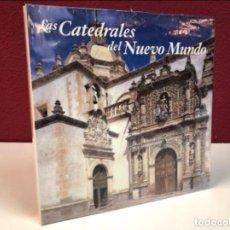Libros de segunda mano: LAS CATEDRALES DEL NUEVO MUNDO. PEDRO NAVASCUES PALACIOS. ED. IBERDROLA 2000. CON PRECINTO ( NUEVO).. Lote 125210443
