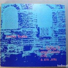 Libros de segunda mano: BORJA,ARQUITECTURA CIVIL S. XVI, XVII / CONCHA LOMBA / 1982. CENTRO DE ESTUDIOS BORJANOS. Lote 125973975