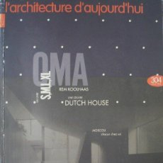 Libros de segunda mano: L'ARCHITECTURE D'AUJOURD'HUI 304 S M L XL REM KOOLHAAS OMA ARQUITECTURA EN FRANCÉS. Lote 125977351
