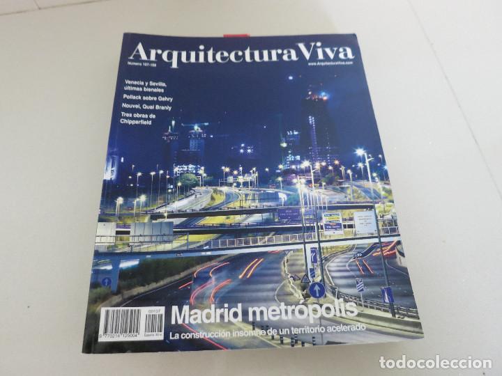 ARQUITECTURA VIVA 107 108 MADRID METROPOLIS (Libros de Segunda Mano - Bellas artes, ocio y coleccionismo - Arquitectura)
