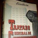Libros de segunda mano: CONSTRUCCION DE EDIFICIOS II, TRATADO GENERAL DE CONSTRUCCION, ESSELBORN,1962.787PP.20X27,. Lote 126207255