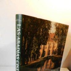 Livres d'occasion: LAS ABADIAS CISTERCIENSES LEROUX, JEAN-FRANÇOIS PUBLICADO POR ULLMANN ARQUITECTURA. Lote 126295587
