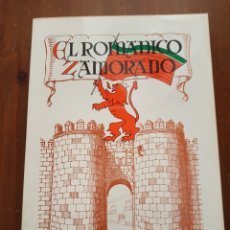 Libros de segunda mano: EL ROMÁNICO ZAMORANO ANGEL CRUZ Y MARTIN. Lote 126874170