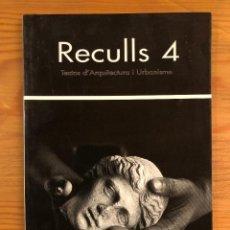 Libros de segunda mano: ARQUITECTURA BALEAR--RECULLS 4(13€). Lote 127556803