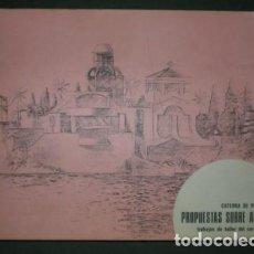 Libros de segunda mano: PROPUESTAS SOBRE ARANJUEZ. ESCUELA TÉCNICA SUPERIOR DE ARQUITECTURA DE MADRID. 1975. Lote 127785103
