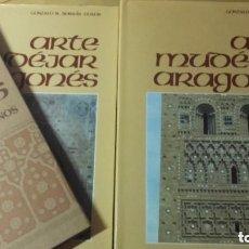 Libros de segunda mano: ARTE MUDEJAR ARAGONES. GONZALO BORRAS GUALIS. 3 TOMOS. COMPLETA. 1985. Lote 128174263