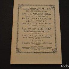 Libros de segunda mano: JUAN GARCIA BERRUGUILLA - VERDADERA PRACTICA DE LAS RESOLUCIONES - FACSIMIL DEL DE 1747. Lote 128179955
