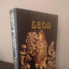 Libros de segunda mano: LOS MONUMENTOS CAPITALES CIUDAD LEON - ANTONIO VIÑAYO. Lote 128717419