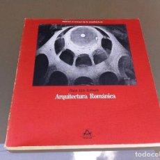 Libros de segunda mano: HANS ERIC KUBACH. ARQUITECTURA ROMÁNICA. ED. AGUILAR, 1989.. Lote 128810791