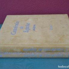 Libros de segunda mano: CATEDRALES DE ESPAÑA. EDICIÓN NUMERADA. 2 TOMOS. AGUALARGA EDITORES.S.L. MADRID 2002. Lote 128900867
