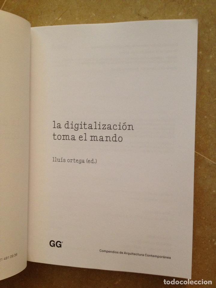 Libros de segunda mano: La digitalización toma el mando (Lluís Ortega) Editorial Gustavo Gili - Foto 2 - 129434580
