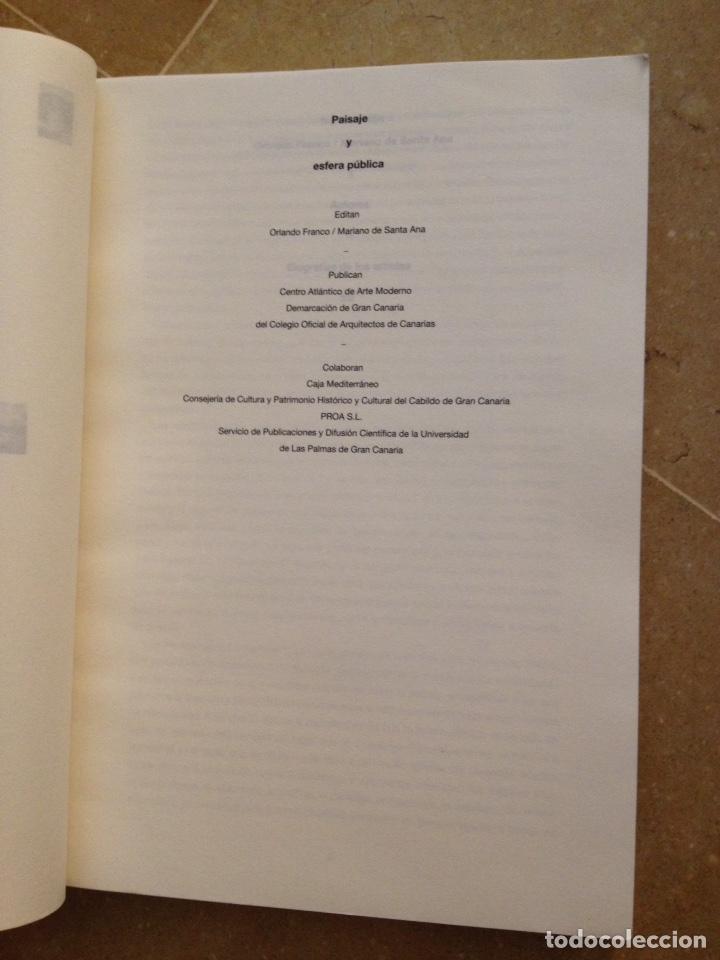 Libros de segunda mano: Paisaje y esfera pública (Orlando Franco, Mariano de Santa Ana) - Foto 2 - 129434798