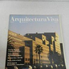 Libros de segunda mano: ARQUITECTURA VIVA 35 1994 METRÓPOLIS. Lote 129981823