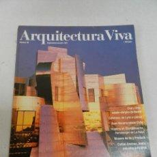 Libros de segunda mano: ARQUITECTURA VIVA 38 1994 TEATROS DEL ARTE. Lote 129981859