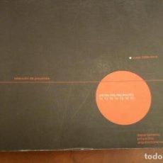 Libros de segunda mano: UNIVERSIDAD POLITECNICA DE VALENCIA, DEPARTAMENTO PROYECTOS ARQUITECTONICOS. CURSO 2009-2010. 511 PP. Lote 130207455