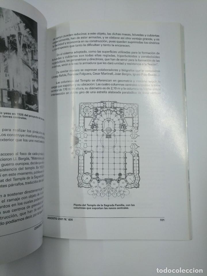 Libros de segunda mano: EDIFICIOS Y CONSTRUCCIONES SINGULARES EN HORMIGON. CEMENTO HORMIGON. TDK307 - Foto 2 - 130479762