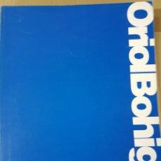 Libros de segunda mano: ORIOL BOHIGAS REVISTA ARQUITECTOS. Lote 130697850