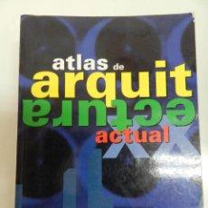 Libros de segunda mano: ATLAS DE ARQUITECTURA ACTUAL KÖNEMANN 2000. Lote 130885224